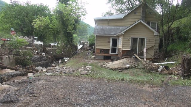 Hinton Man's Home Destroyed in Tuesday Severe Flood
