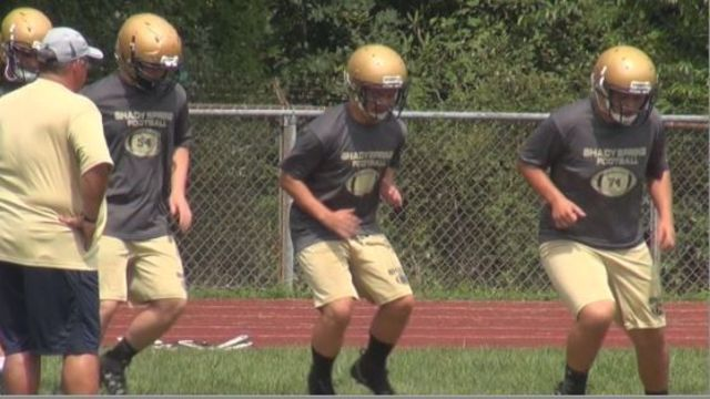 Coaches keep their players safe for the first day of football practice