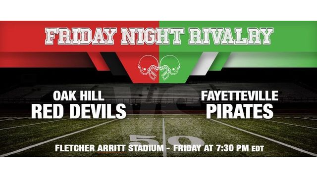 Oak Hill Travels to Fayetteville for a Huge Fayette County Football Rivalry