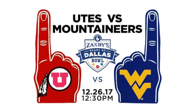 WVU to play Utah in Heart of Dallas Bowl