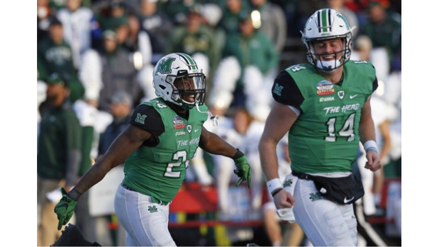 Rams' comeback falls just short in New Mexico Bowl