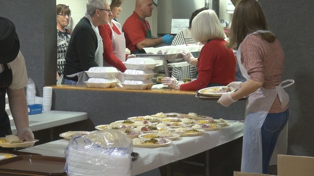 One local church is spreading holiday cheer