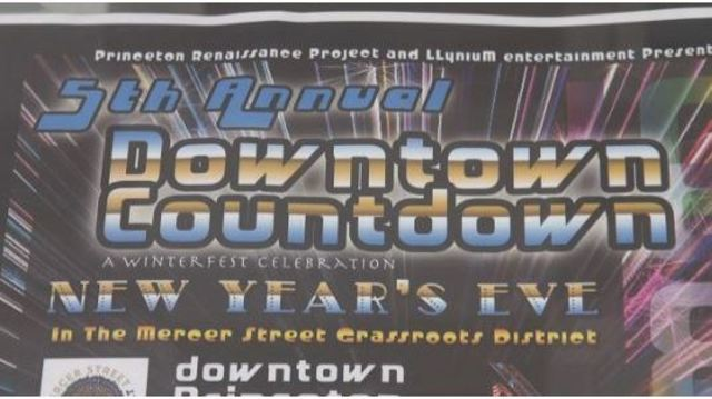 Princeton hosts 5th Annual Downtown-Countdown