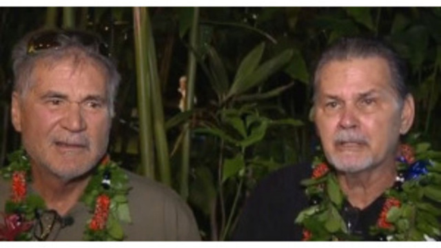 After 60 years, best friends from Hawaii learn they're brothers