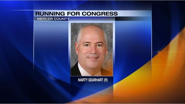 Gearhart announces bid for congressional seat