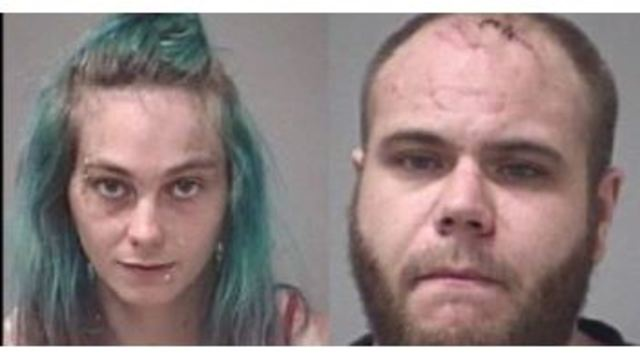 Manhunt for pair charged in girl's death underway