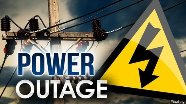 Widespread power outages reported across the region