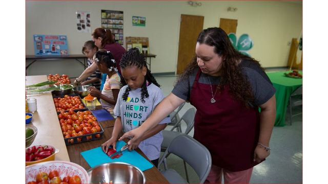 Virginia Cooperative Extension, Walmart Bring Healthy Living Education to Youth