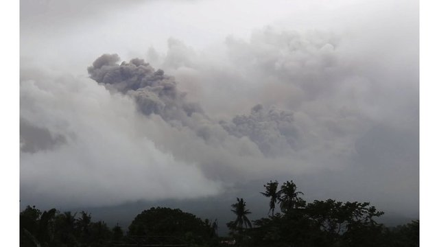 State of calamity declared due to volcano's eruption
