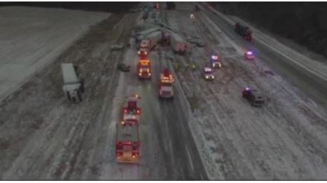 Pile-up crash in Rolla closes I-44