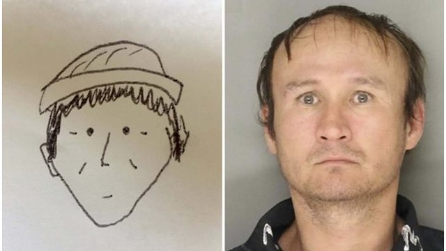 Simple sketch helps police identify theft suspect