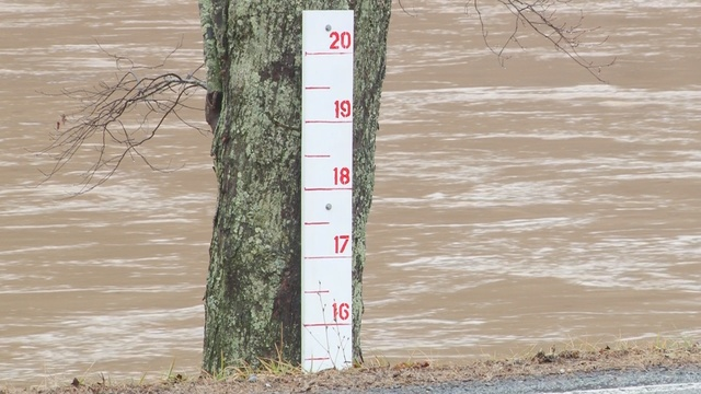 Town of Alderson prepared for flood warning