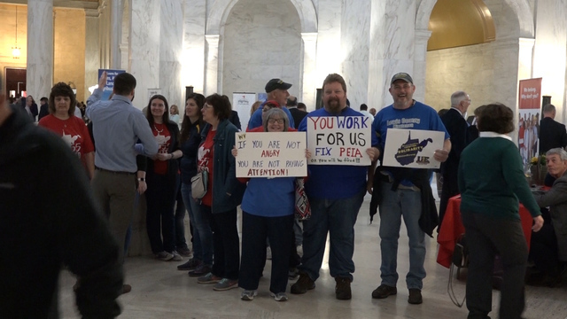 Teacher walkout closes West Virginia public schools