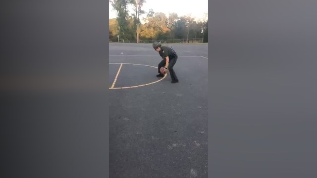 West Virginia State Trooper plays ball with Raleigh County teens