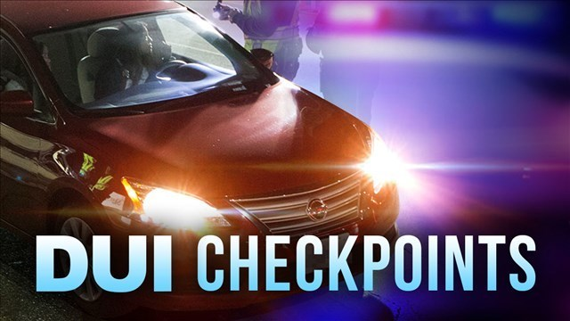 State Police conduct DUI checkpoint in Greenbrier County this weekend