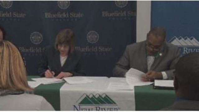 Students Can Enter Bluefield State with ease from New River Community and Technical College