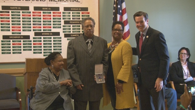 Raleigh County resident, Vietnam veteran receives Purple Heart, other distinguished military honors