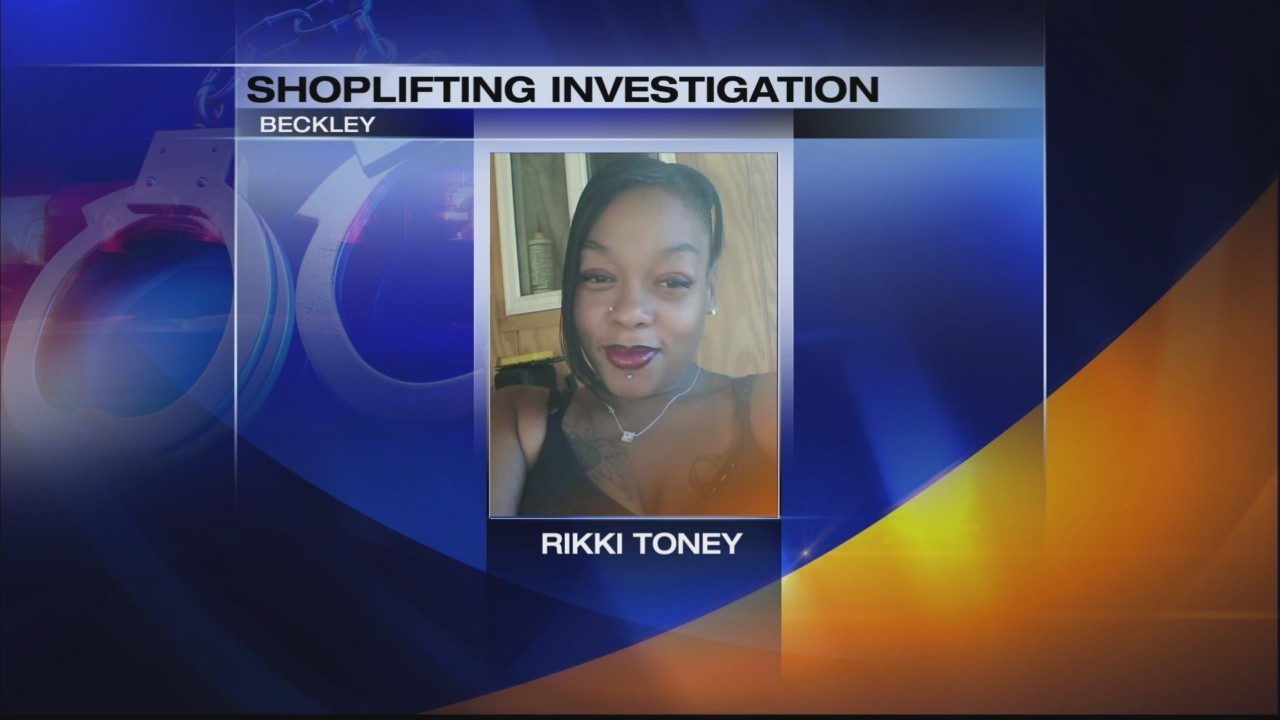 Felony shoplifter wanted in Raleigh County