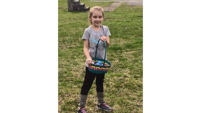 4-1-18 My granddaughter Riley from Naoma Her Girl Scout troop recently had an egg hunt Happy Easter from Tammy Burnette_1522674635560.jpg.jpg