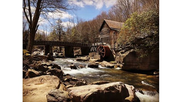 4-12-18 Beautiful picture at Babcock State Park taken April 8 by my son Justin Baker from Keyser WV from Stephanie Holdren_1523366573639.jpg.jpg