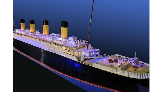 Boy With Autism Builds Worlds Largest Lego Titanic Replica