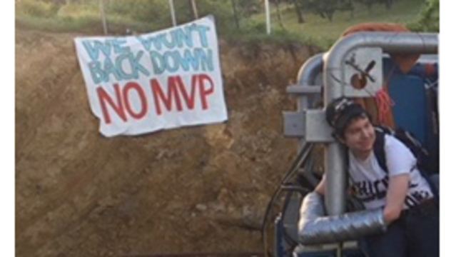 Pipeline protesters arrested in West Virginia