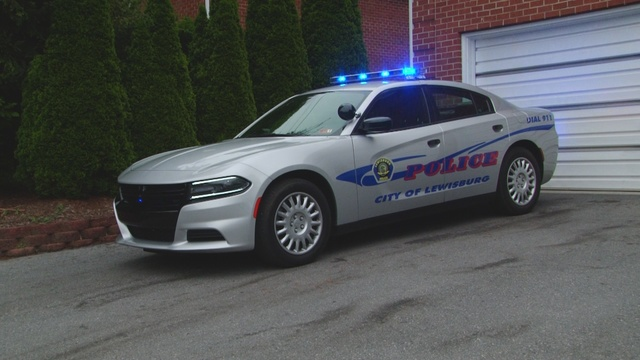 Lewisburg PD receives new police cars