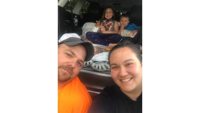 8-4-18 Josh Jessi Brooklyn and Eli Tolley enjoying the Meadow Bridge drive in from jessi Tolley_1533739110229.jpg.jpg