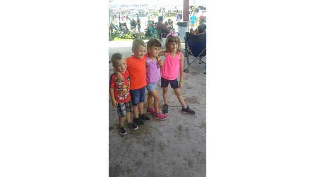 Cousins enjoying the animal barns from Jessica Deel_1534188847641.jpg.jpg
