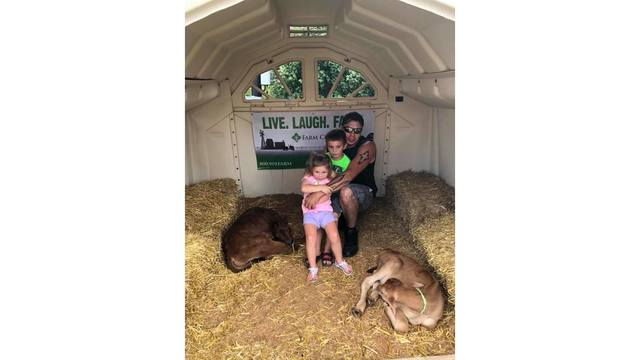My step kids & boyfriend with the baby cows from Kelsey Meadows_1534188863431.jpg.jpg