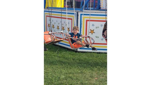 Evan Vannatter turning 5 on the 22nd of this month from Raleigh County WV finally big enough to ride the swings from Meagan Edwards_1534282120056.jpg.jpg