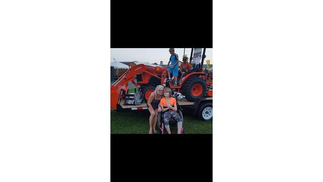 My daughter Victoria, son Ezra and his friend Lucas - We was taking a break and they was checking out the tractors from Marlena Hardy_1534282131817.jpg.jpg