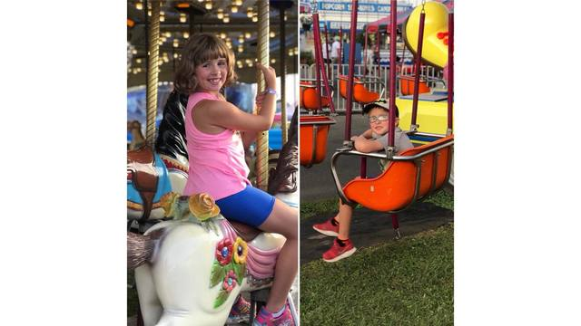 My son Derick and daughter Katie riding some rides from Tina Shawver_1534282009978.jpg.jpg