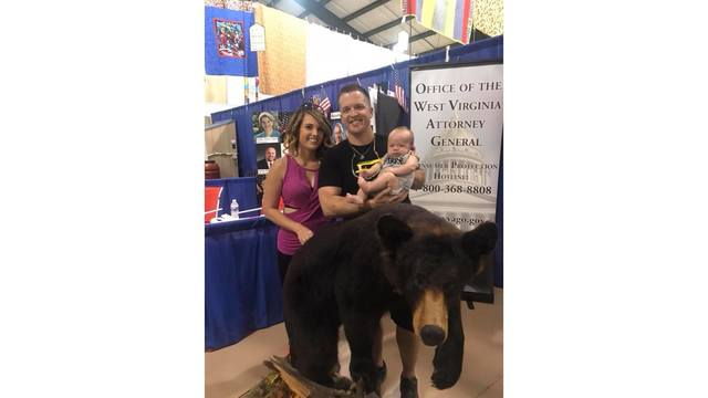 "Our ""little bear Hayes"" enjoying his first state fair ever from Amber Lilly_1534282115668.jpg.jpg"