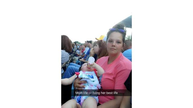When the heat & mom life got you like me and my baby girl Ella waiting on Mercy Me from Kayla Triplett_1534282112281.jpg.jpg