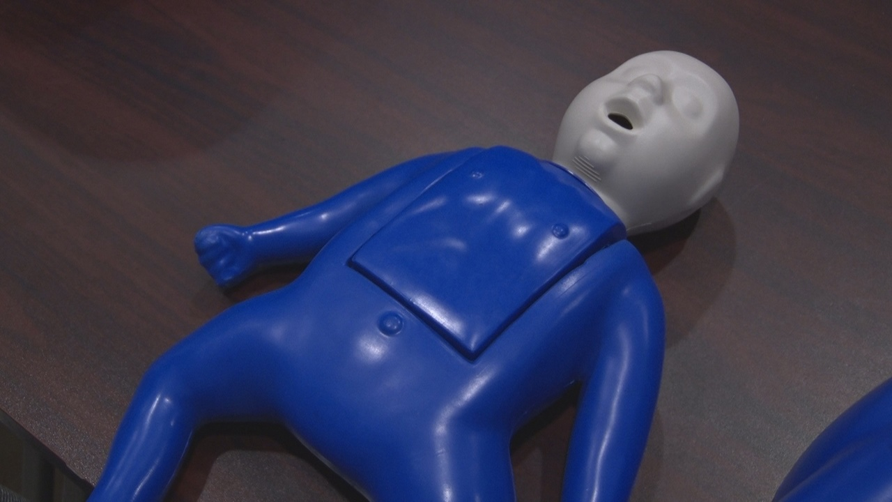 Summers County Ems Holding Cpr Class