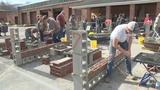 Vocational Tech students compete in Bricklayer 500